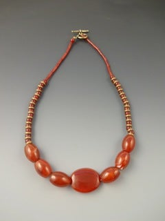 Image of Necklace for Protection in Pregnancy, Carnelian