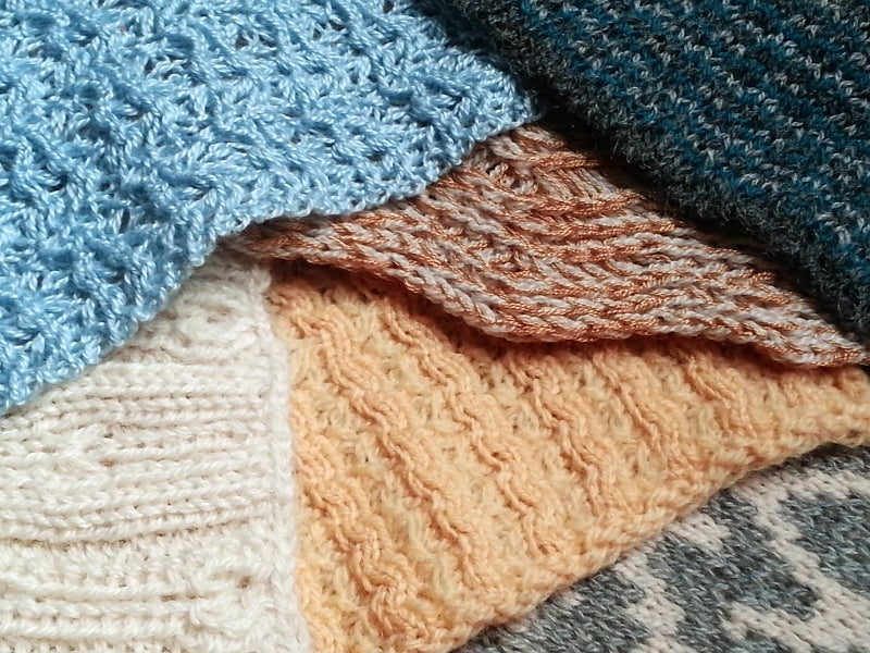 Image of Swatch Options for Custom Knits