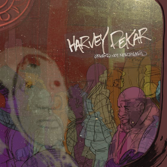 "Image of Harvey Pekar - Upward, Not Northward 12"" LP"