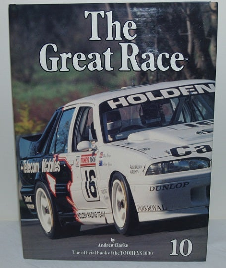 Image of Bathurst 1990 - Great Race book # 10. HRT wins