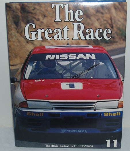 Image of Bathurst 1991. The Great Race Book # 11. Nissan wins.