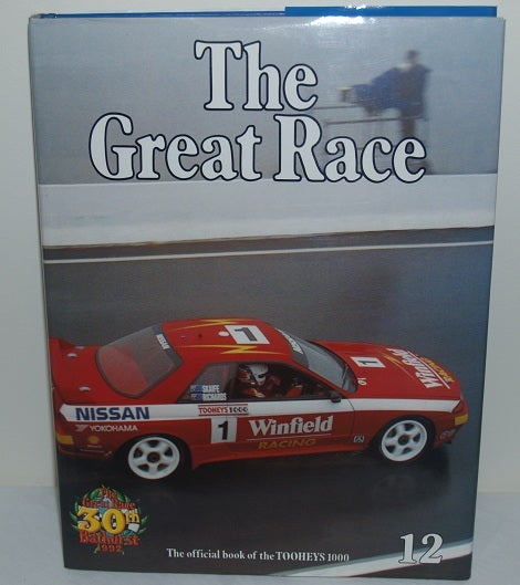 Image of BATHURST 1992. GREAT RACE BOOK # 12. NISSAN REINS!!
