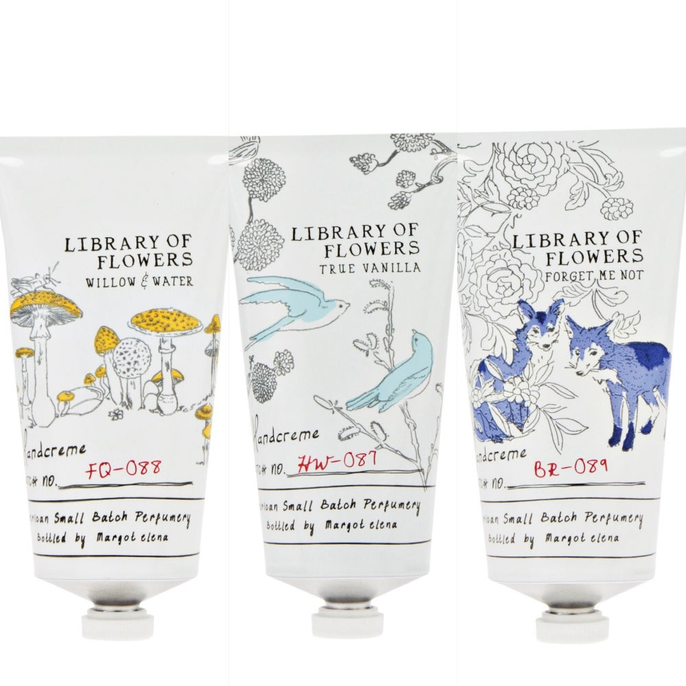 Image of Library of Flowers Handcreme - Ch. 2