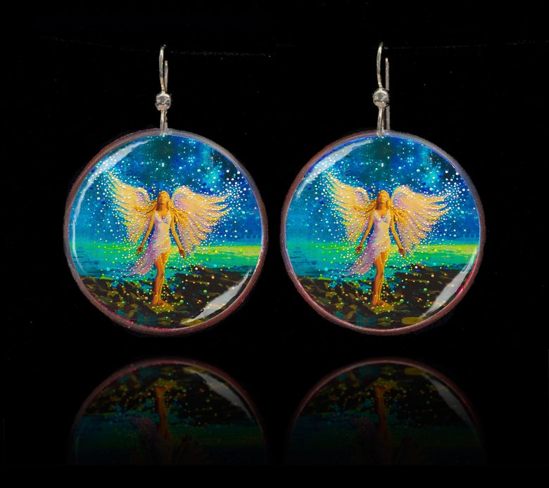 Image of Star Angel Personal Comfort Earrings