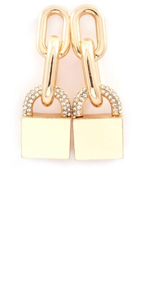Image of Lock-it Earrings