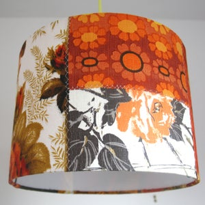 Image of Dottie Rose Patchwork Lampshade