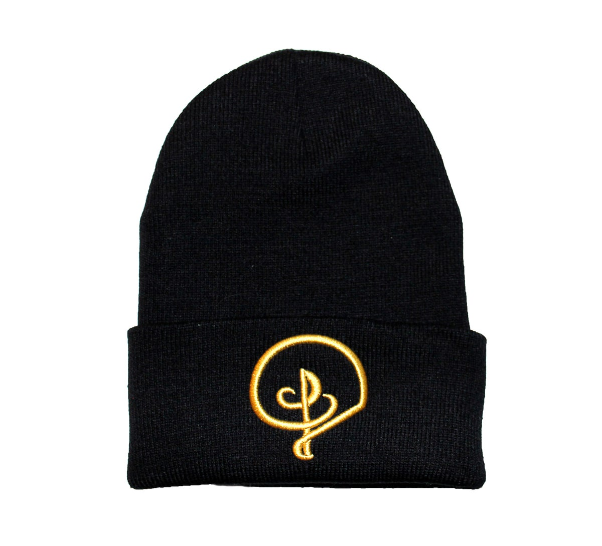Image of GOLD DVIOUS BEANIE