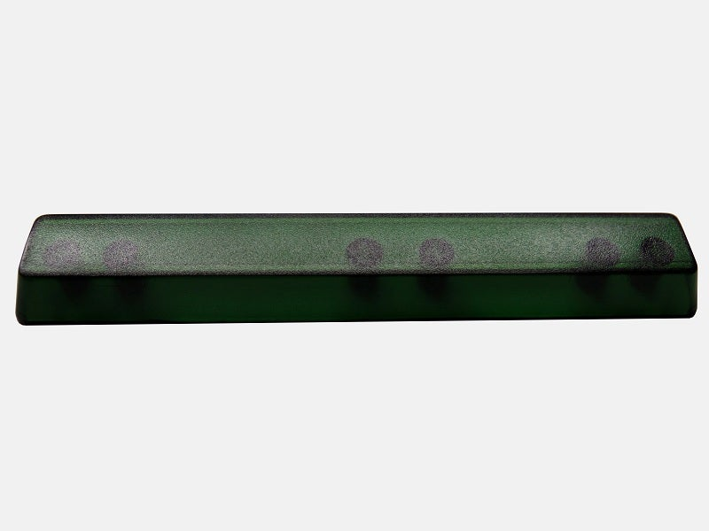Image of (6.25x)Green Translucent Spacebar