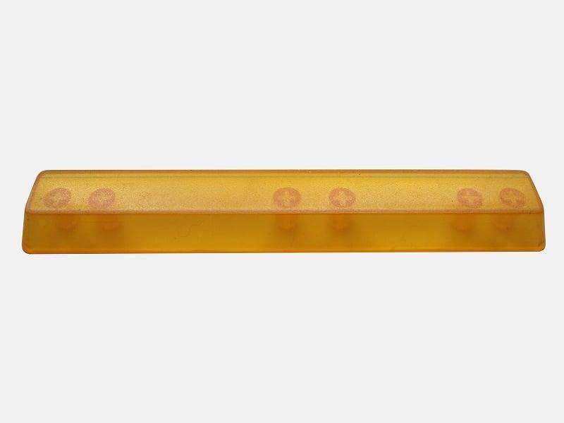 Image of (6.25x)Yellow Translucent Spacebar