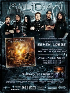 Image of Seven Lords Poster