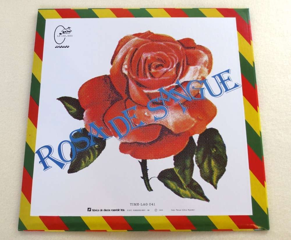 Image of LULA CORTES ~ ROSA DE SANGUE ~ lp (TIME-LAG 041)