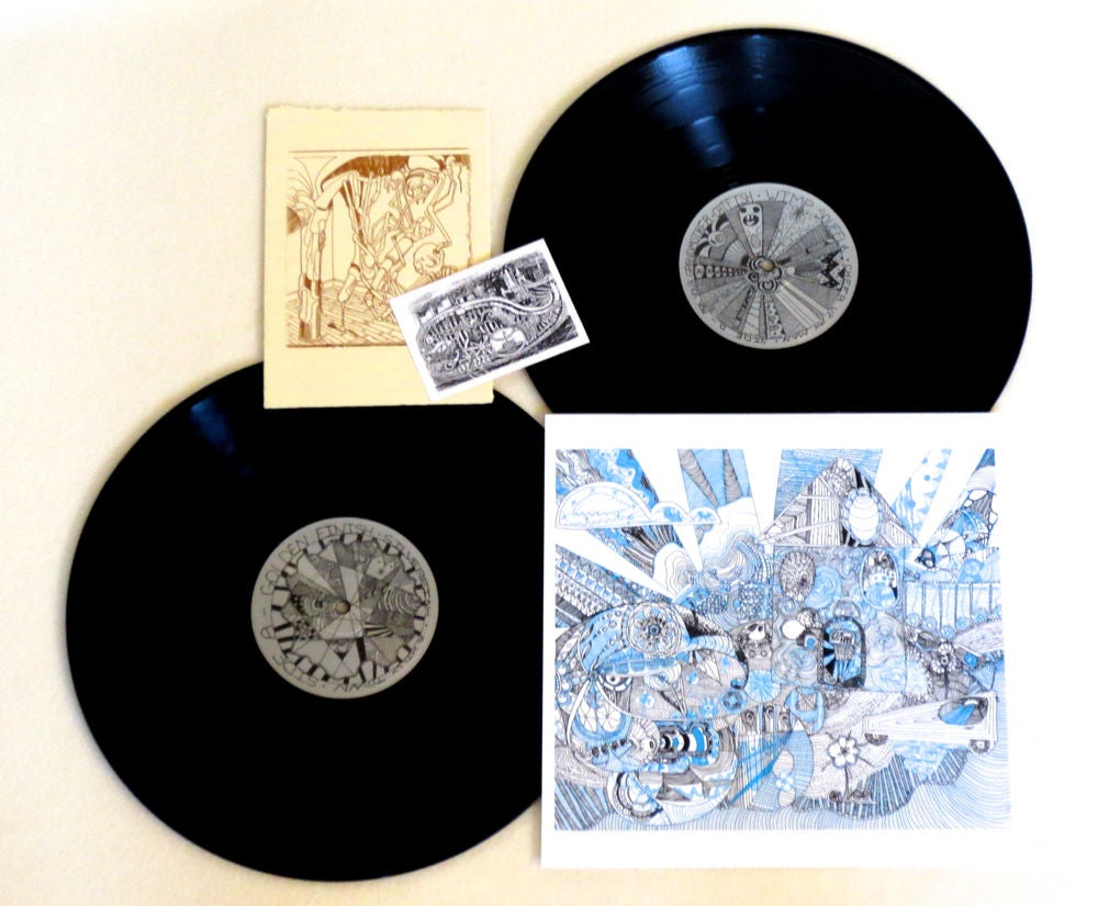 Image of THE PONYS (aka PHANTOM BUFFALO) ~ SHISHIMUMU ~ 2lp (TIME-LAG 006)