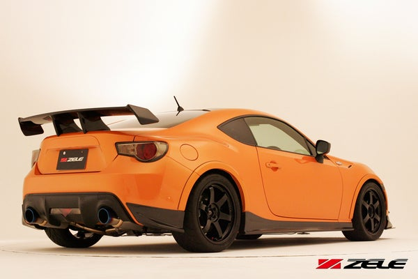 Image of Zele Performance Rear Under Spoiler Set FR-S