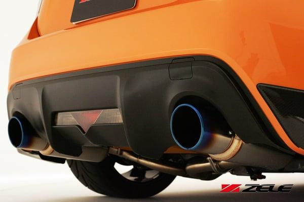 Image of Zele Performance Fz-Muffler Titanium-Tail FR-S