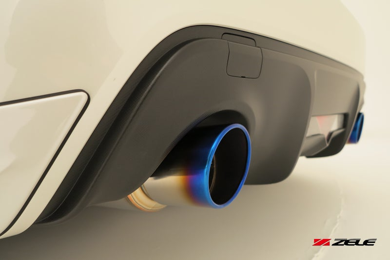Image of Zele Performance Fz-Muffler Titanium-Tail BRZ