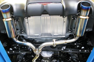 Image of Zele Performance Fz-Muffler Titanium-Tail BRZ
