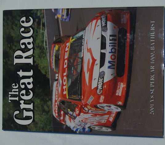 Image of Bathurst Great Race book # 21. Skaife & HRT.