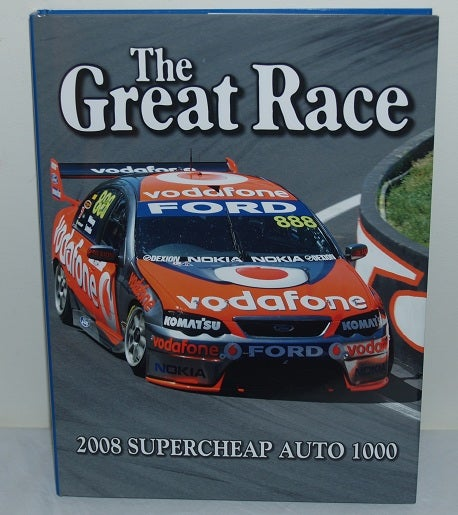 Image of Bathurst Great Race book #28. Third win for 888 Ford.