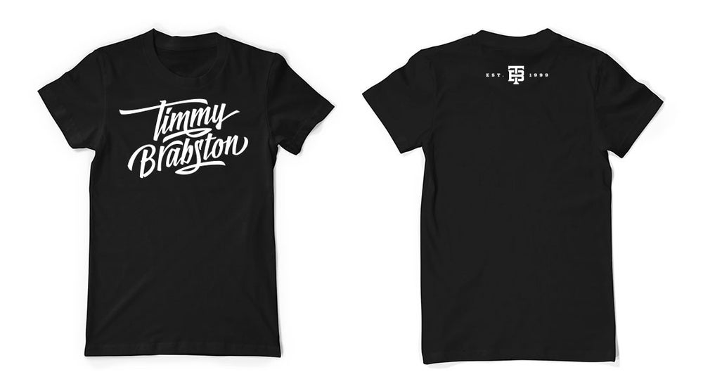 Image of Timmy Brabston T-Shirt (Black)