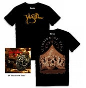 "Image of Tee shirt + EP ""Illusion of time"""