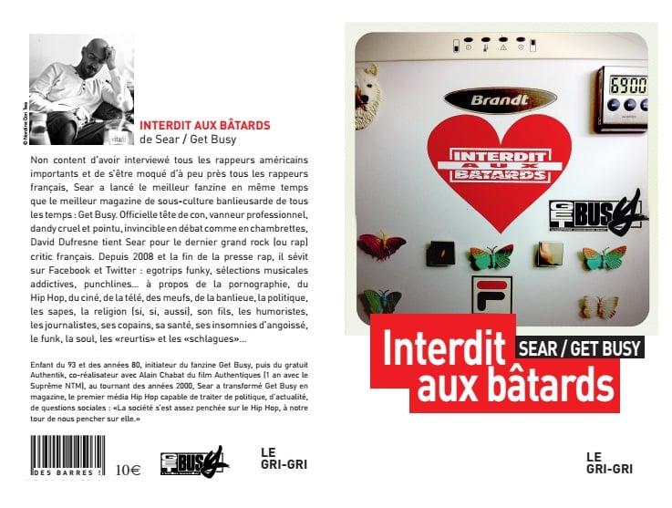 """Image of Livre """"Interdit aux Batards"""""""