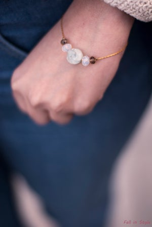 Image of Pulsera Blue Rose