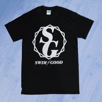 Image of Swim Good 'Crest' Shirt in Black