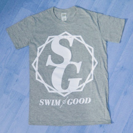 Image of Swim Good 'Crest' Shirt in Grey *SUPER LIMITED STOCK*