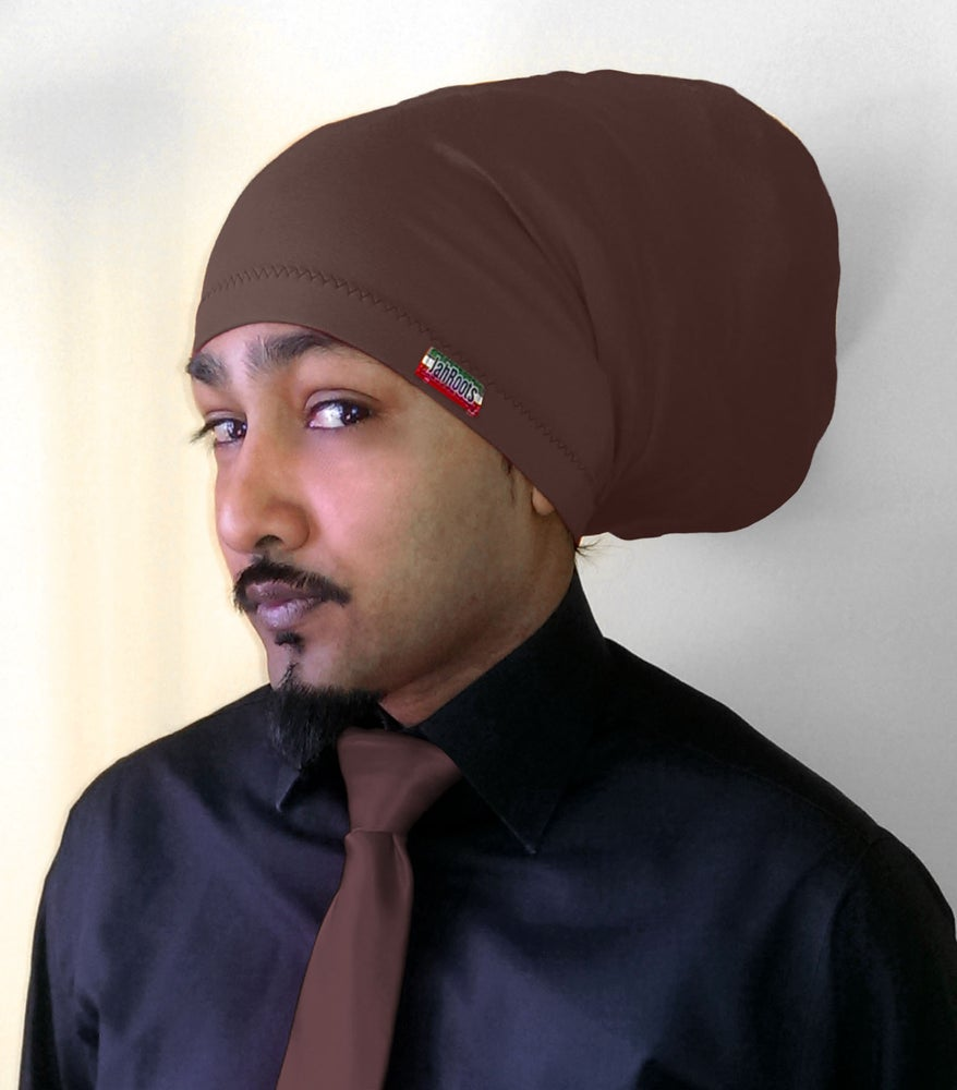 Image of Jah Roots Tube Hats (Brown)