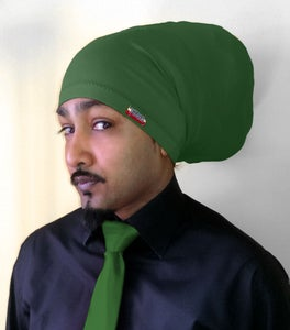 Image of Jah Roots Tube Hats (Forest Green)
