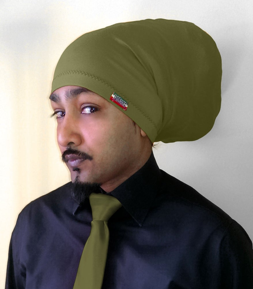 Image of Jah Roots Tube Hats (Olive)