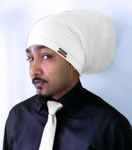 Image of Jah Roots Tube Hats (White)
