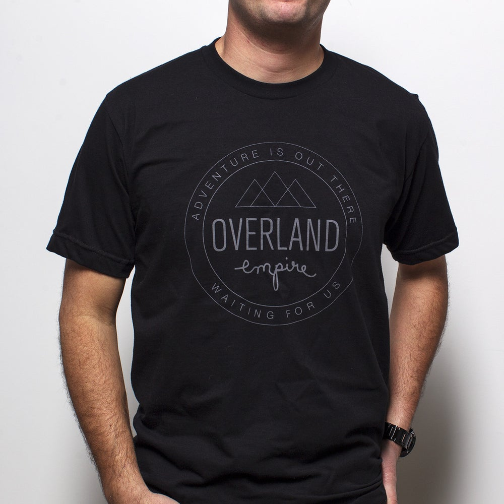 Image of Overland Empire men's shield tee