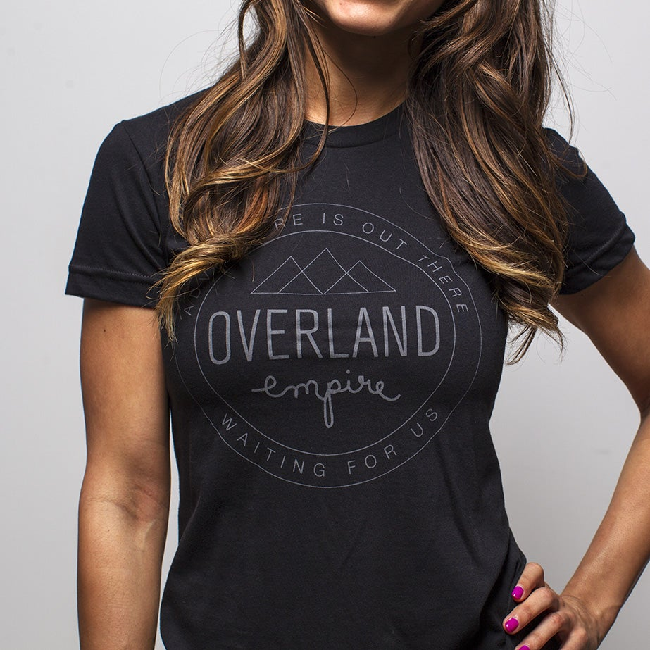 Image of Overland Empire women's shield tee