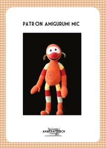 Image of patrón MIC amigurumi