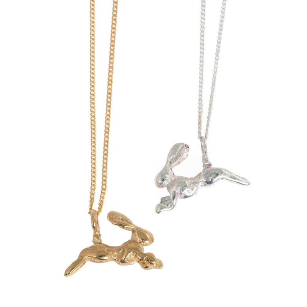 Image of New! Miniature Hare Necklace