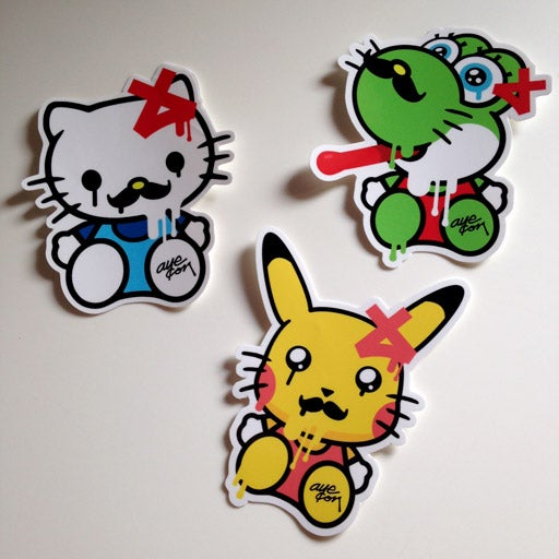 Image Of Hello Kitty Stickers ...