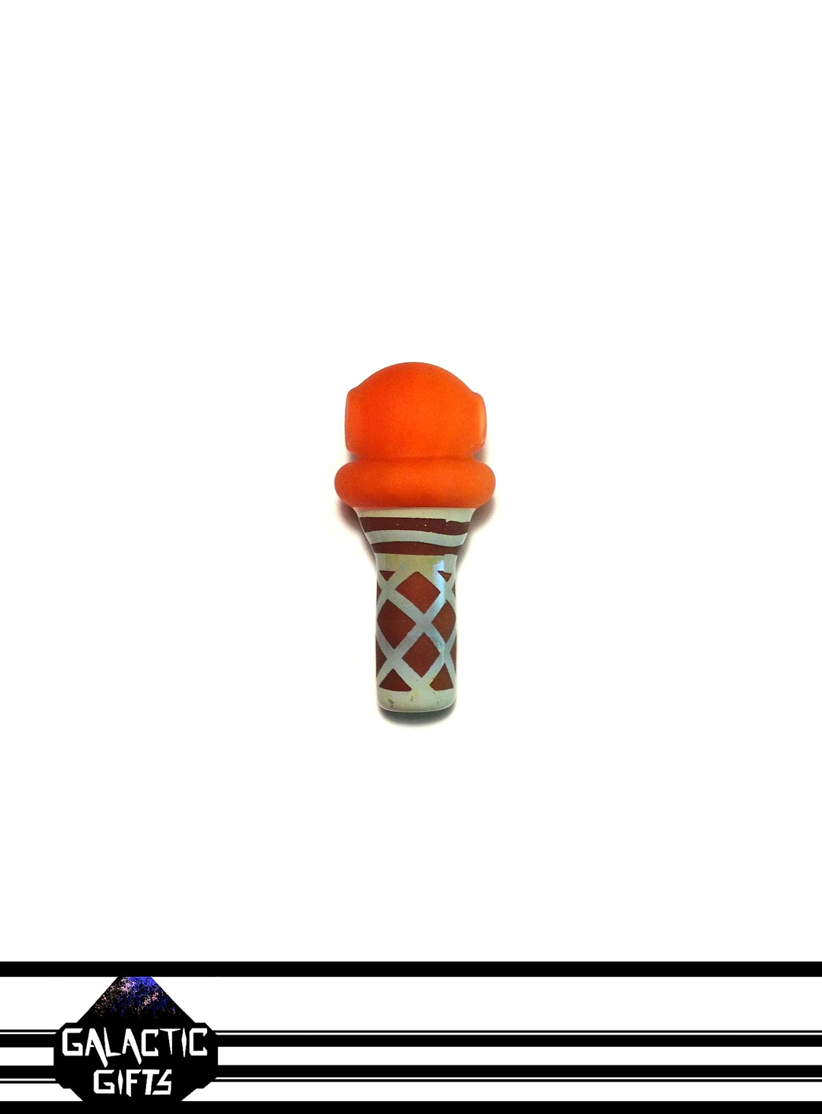 Image of Chad G Orange Sherbet Ice Cream Cone Pendant