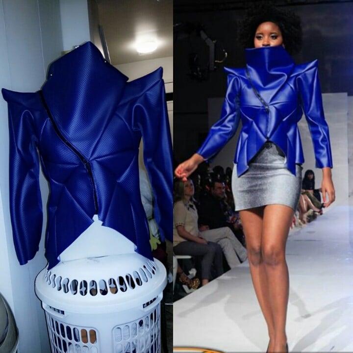 Image of Blue Architect Jacket