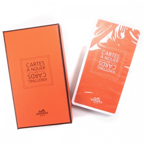 Image of Hermes Knotting Cards Cartes A Nouer Carre