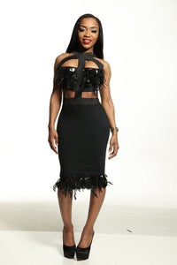 Image of Moxy cocktail dress