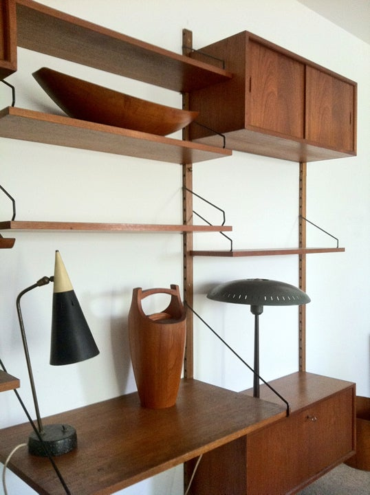Image of Wall-Mounted Cadovius Shelving