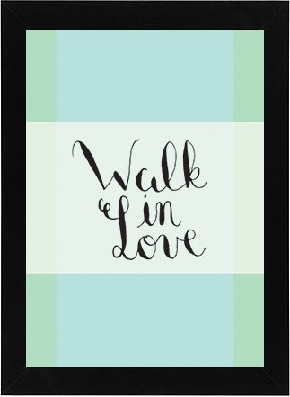 Image of Walk in Love Printable
