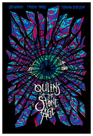 Image of QOTSA • '14 Screen Prints