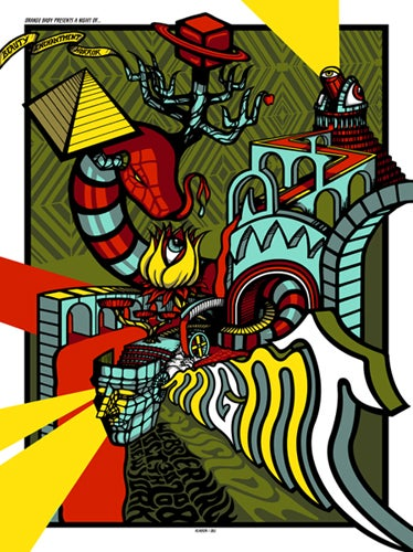 Image of MGMT •'08 Screen Print
