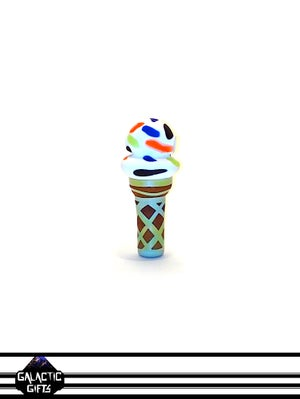 Image of Chad G Vanilla Ice Cream Cone Pendant With Extra Sprinkles