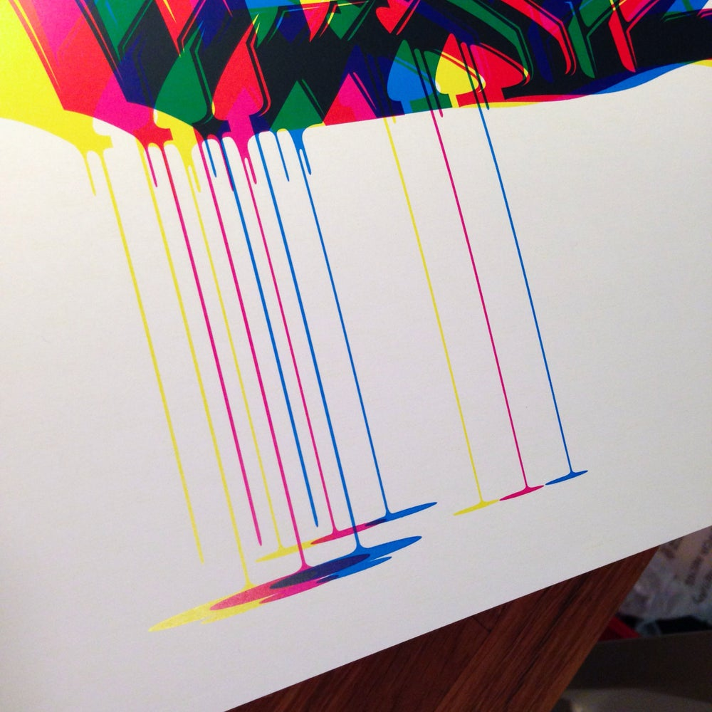 Image of CMYK GRAFFITI ALPHABET