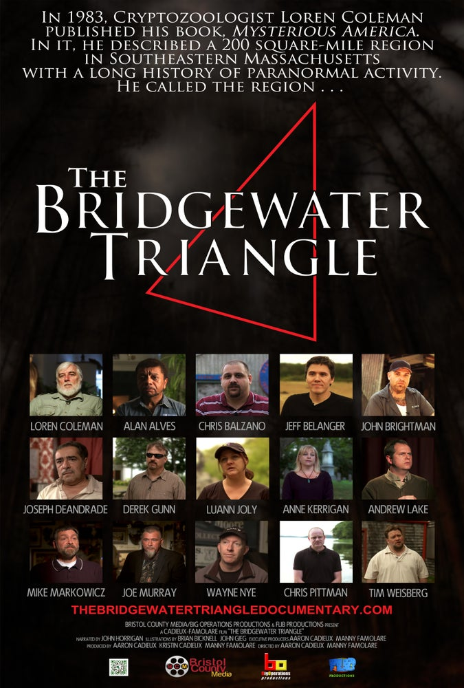 Image of The Bridgewater Triangle Poster 11x17
