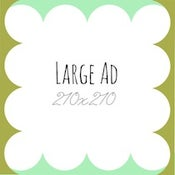 Image of Large Ad Space Sponsor - 1 Month.
