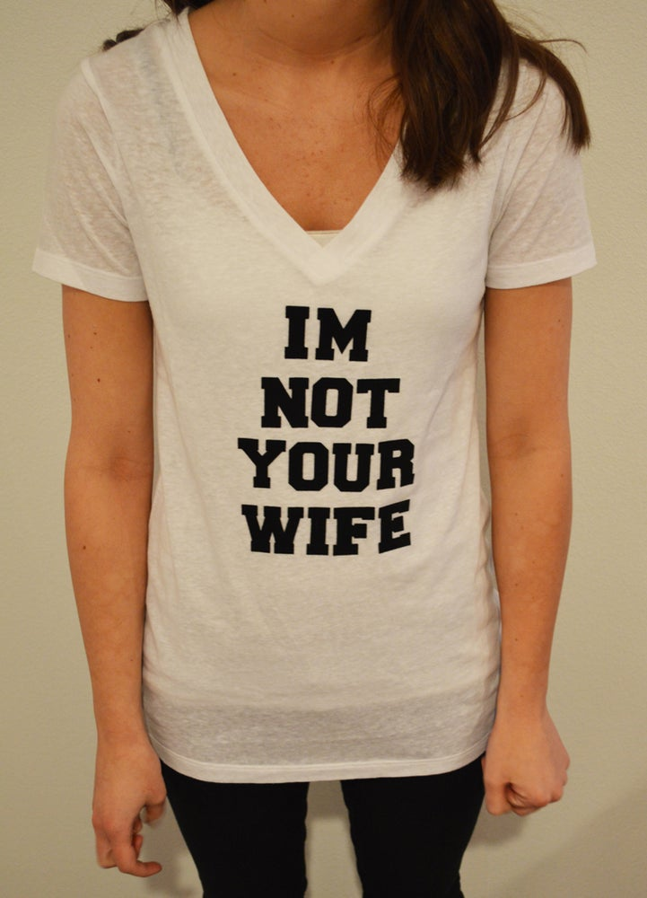 Image of I'm Not Your Wife